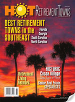 Read Hot Retirement Towns Magazine online